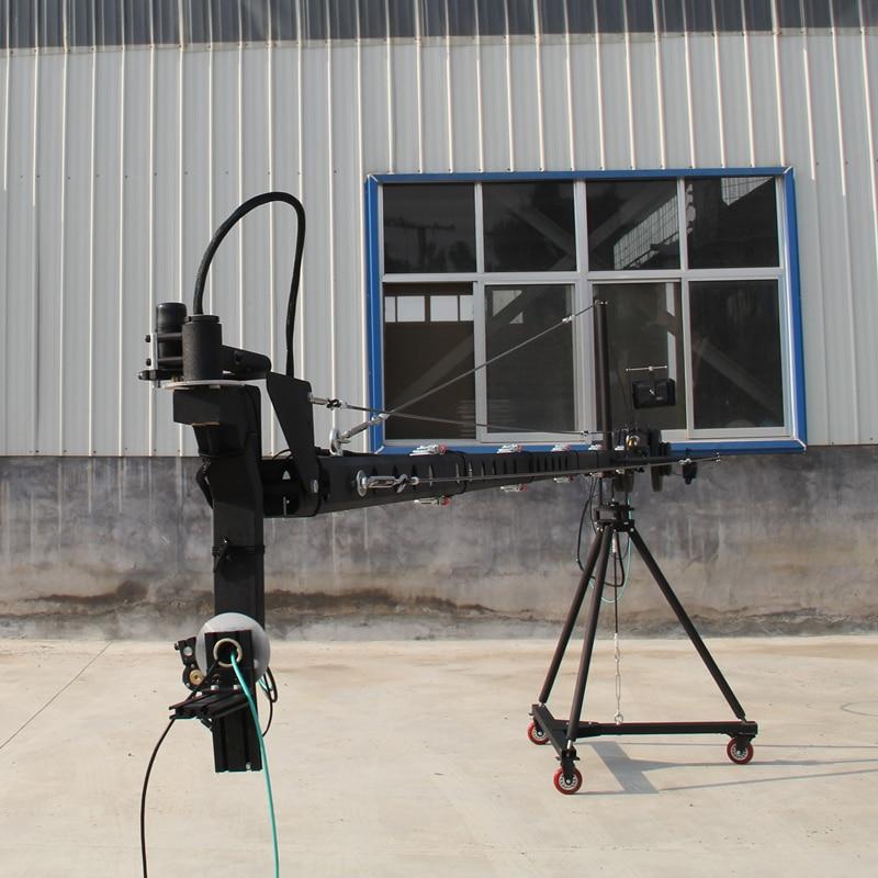 Schwenkkran 10m 3-Achs-Schwenk-Neigekopf Tragbarer Kamerakran DSLR - Kamera und Foto - Foto 5
