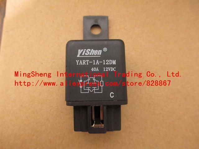 High power Automotive relay YART-1A-12DM-12VDC YART-1A-12DM 40A 12VDC original new 100% Automotive relay