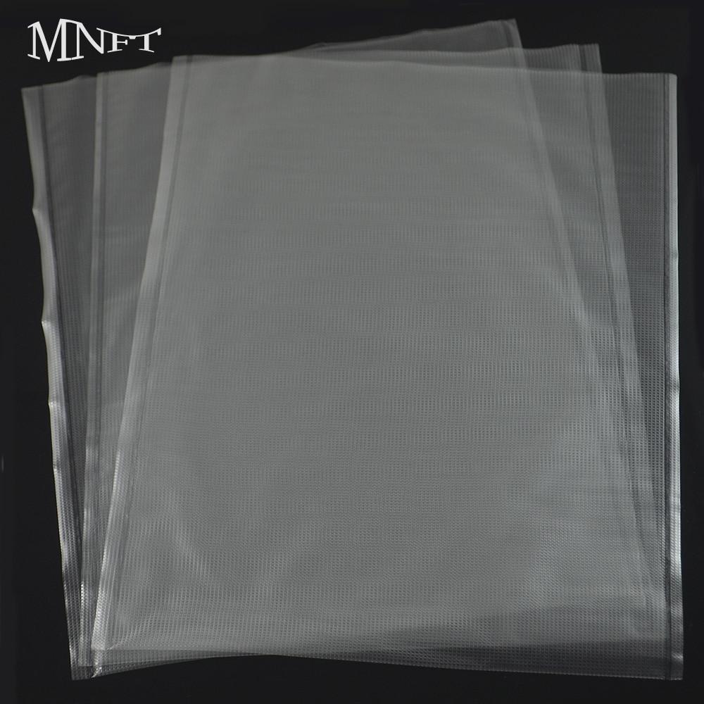 MNFT 100Pcs 15*19cm Carp Fishing Large PVA Dissolve Bags Ground Baiting Boilie Pellet Maggot Maize Bait PVA Bag