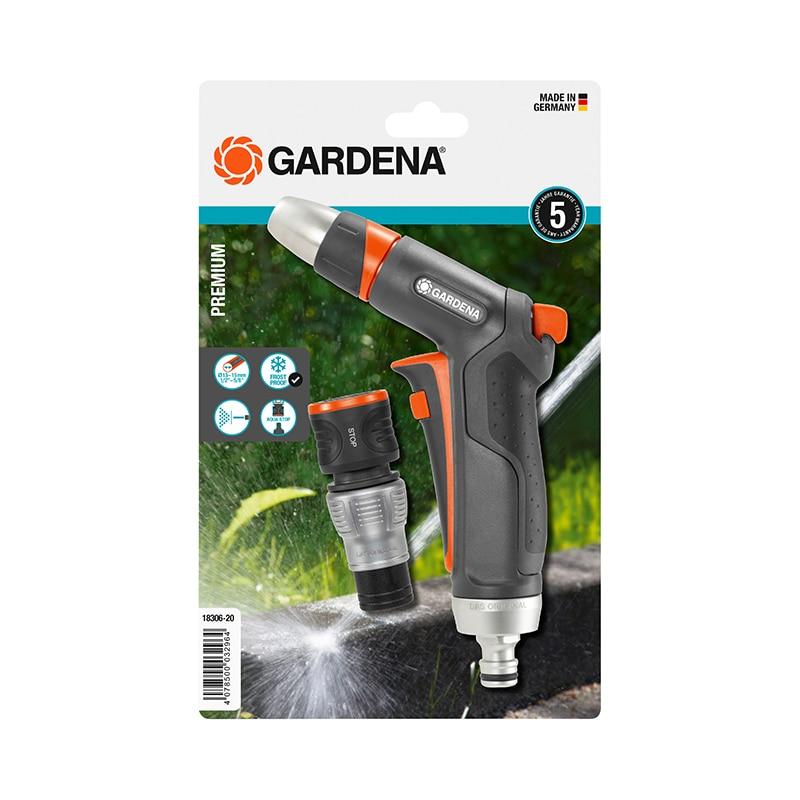 Watering Kit GARDENA Premium 18306-20 watering kit gardena micro drip systen base