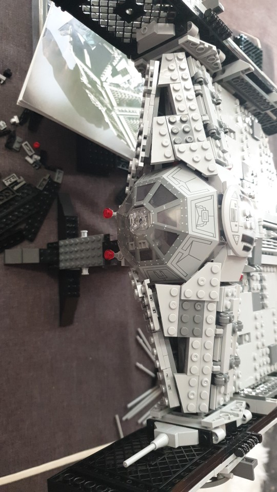 LEPIN 05055 Star Wars The 10175 USC Tie Advanced Fighter Block Set (1242Pcs) photo review