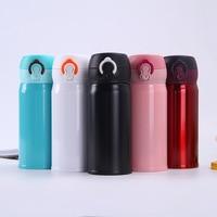 Hoge Kwaliteit Rvs Thermosflessen Thee Koffie Thermos Cups mok Auto Home Office Mannen Vrouwen Reizen Drinken fles
