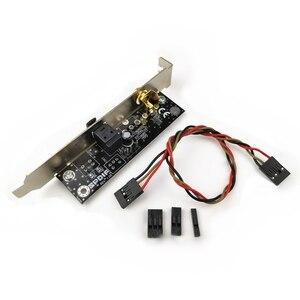 Image 5 - SPDIF optyczny i RCA Out wspornik kabla na płyta główna do komputera