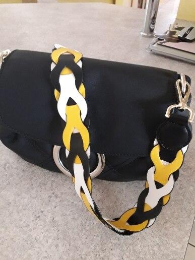WDPOLO nieuwe vrouwen pu lederen tassen riem trendy vervanging schouderbanden voor tassen riemen mode tas accessoires C662 photo review