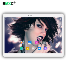 Envío libre 10.1 pulgadas 3G 4G Lte Tablet PC Android 6.0 Octa Core 4 GB RAM 64 GB ROM Cámaras Duales 8.0MP 1920*1200 IPS de la Tableta + Regalo