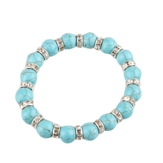 High Quality Magnetic  Bracelet Jewelry Plated Crystal Charms Beads Bracelets Fashion Style Fine Jewelry