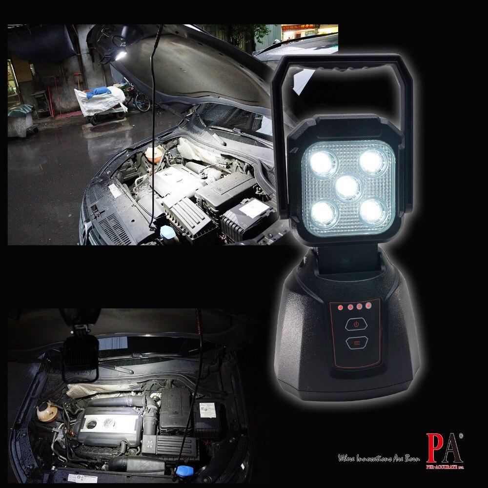 PA LED 1x LED Camping en plein air Spot lumière étanche Base magnétique 15 W LED d'inondation 4 fonctions PA 110 V