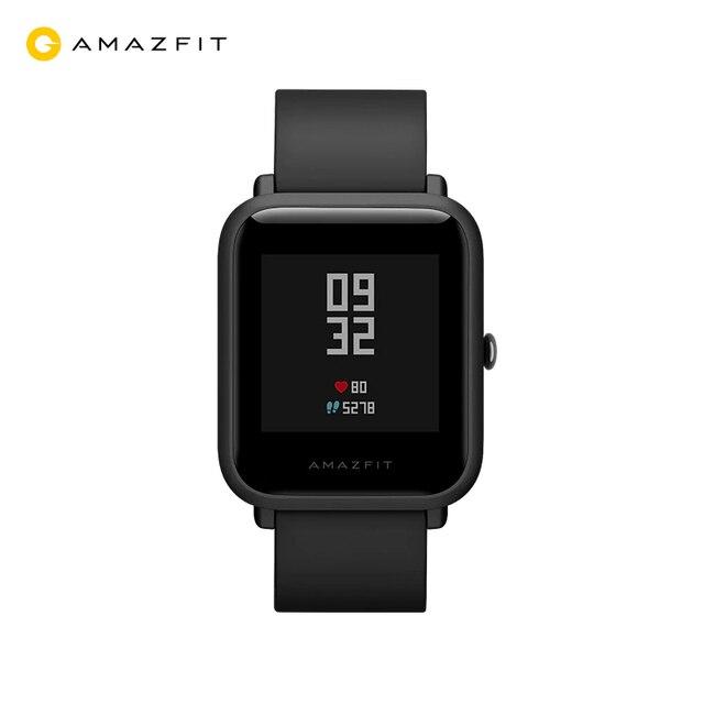 Xiaomi Amazfit Bip GPS Смарт-часы с поддержкой русского языка. Официальная гарантия 1 год, Доставка от 2 дней.