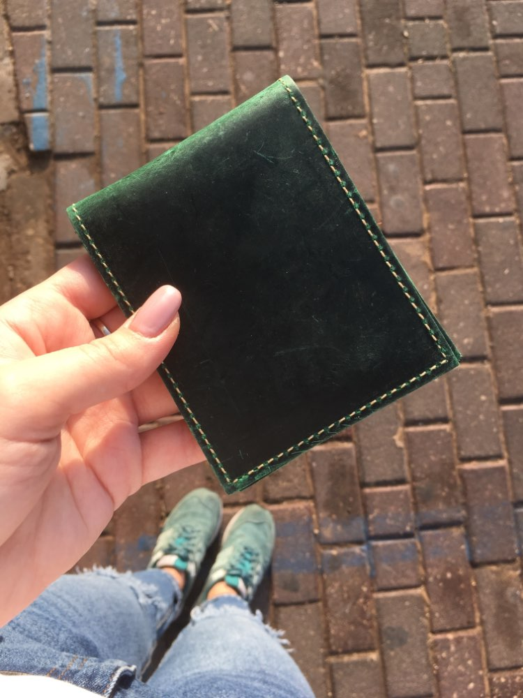 CICICUFF Driving License Holder Wallet Original Handmade Genuine Leather Cover Case for Passes Certificate Document Folder Thin photo review