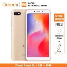 Küresel Sürüm Xiaomi redmi 6A 32 GB ROM 2 GB RAM (Marka Yeni ve Mühürlü) redmi 6a 32 gb
