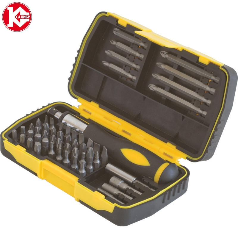 Handle tools set with screwdriver 53 subject Kalibr profi NSO-53 [available from 10 11] black suitcase profi travel ph8865 m plastic with retractable handle on wheels