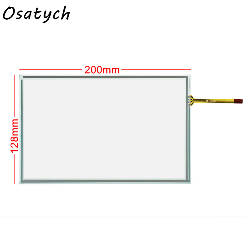 New 200*128mm Touch Screen For Ricoh Aficio MPC2000 MPC2500 MPC3000 MPC3500 MPC4500 Controll Panel 200mm*128mm 128*200mm