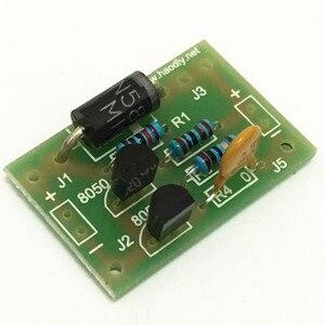 Image 3 - Kits diy placa da lâmpada solar sensor de controle bateria de lítio carregador luz noturna módulo controlador casa/circuito ao ar livre automático
