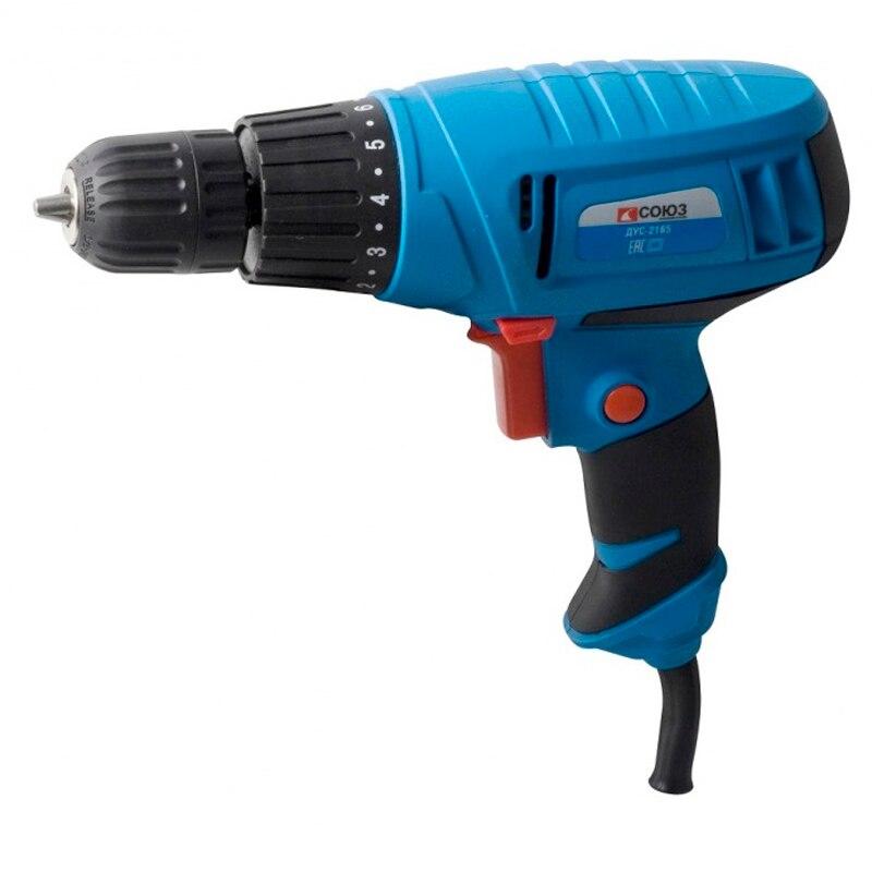 Drill screwdriver SOYUZ DUS-2165 electric drill soyuz dus 2150