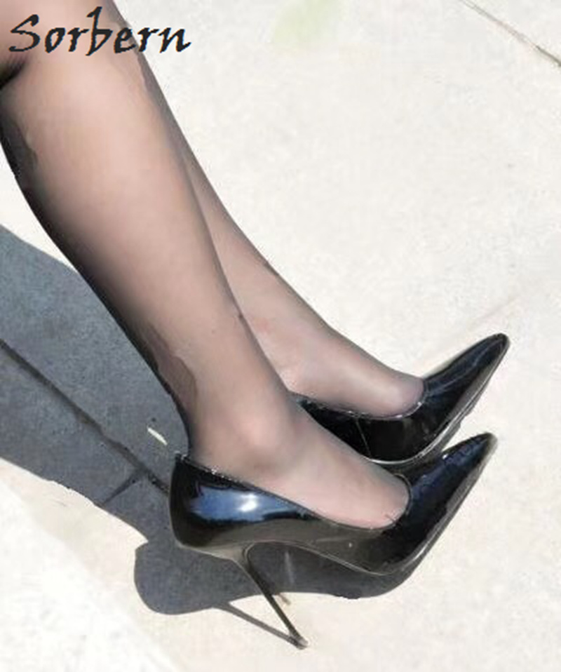Wine Womens 14cm Heels Wedge Pumps Shoes Platform Round Toe Nightclub Dance