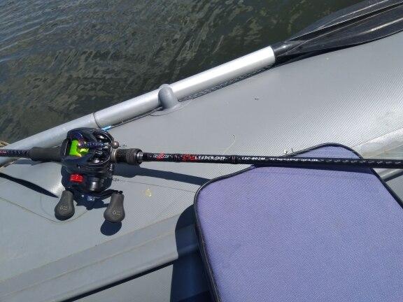 Varas de pescar Liderança Spinning Fundição