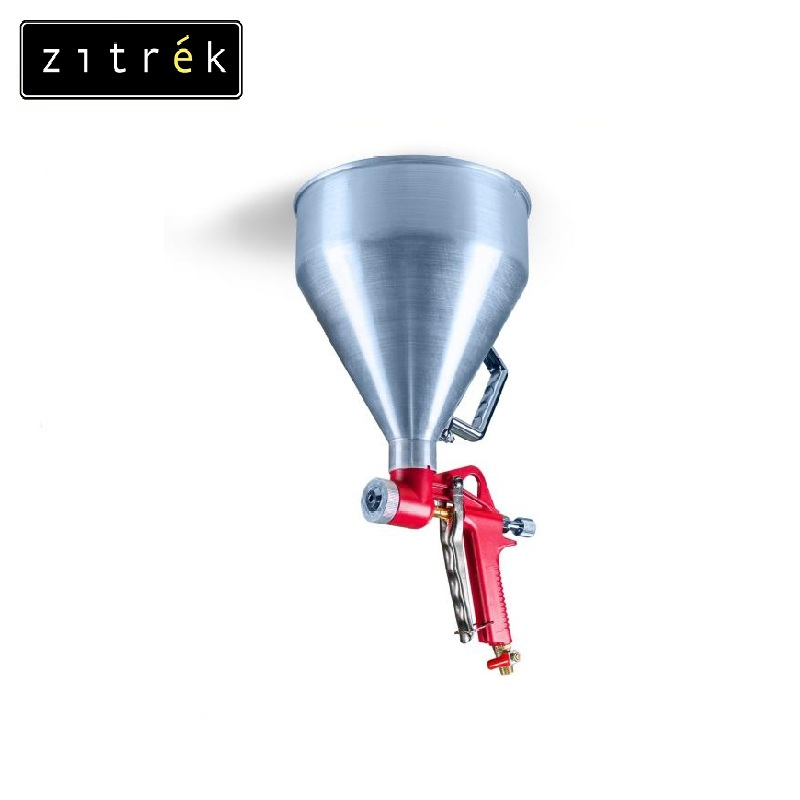 Decorative and finishing pneumospray Zitrek FR-300 (metal funnel) Texturing trowel Decoration plaster Gesso Marble application lee lanier advanced maya texturing and lighting