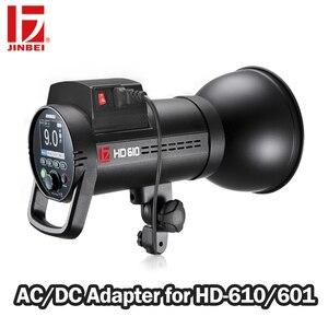 Image 2 - 甚平 AC DC 電源アダプタと互換性 HD 610 & HD 601 写真撮影の照明フラッシュ