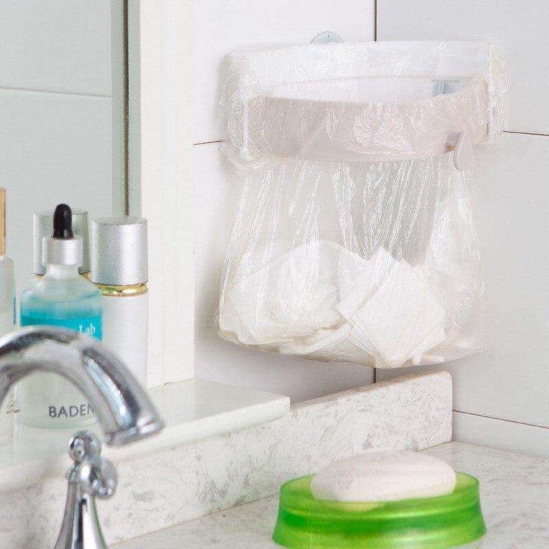Trash Bag Rack Storage Kitchen Sink Garbage Bag Hanging Holder ...