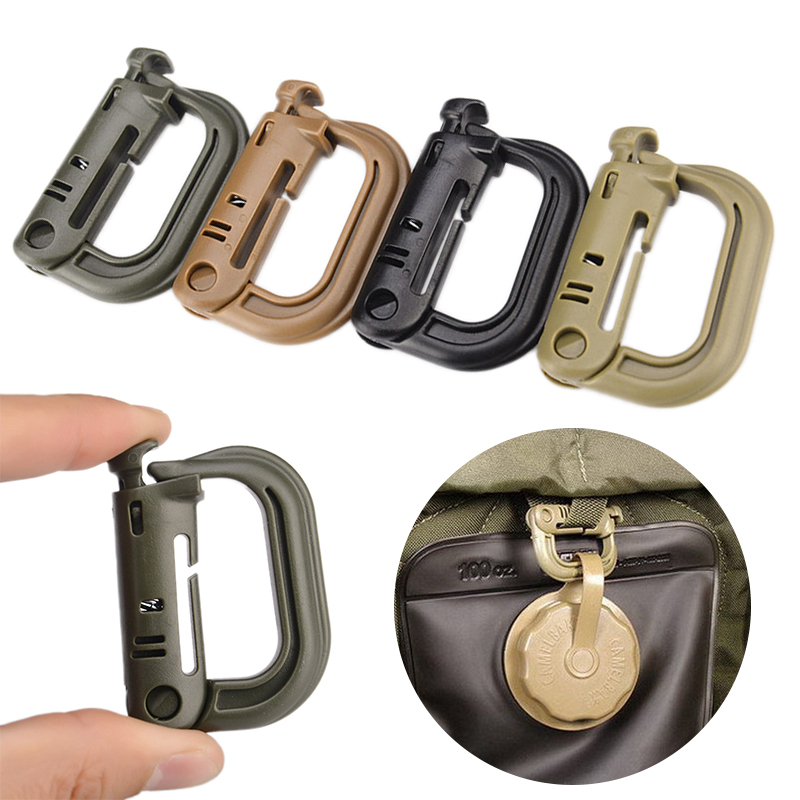 1//3Pc Water Bottle Holder Hook Buckle Clip Carabiner Snap Outdoor Camping Hiking