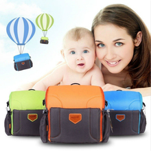 цена на Portable Waterproof Baby Booster Seats Diaper Bag For Mom Baby Chair Feeding Nappy Bag Carrie Travel Mummy Backpack Nursing Crib