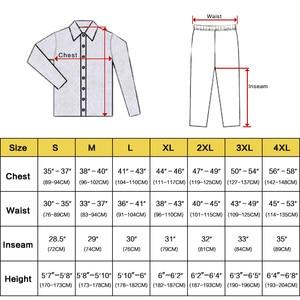 Image 2 - Мужская шелковая атласная пижама, пижамный комплект, Пижама, комплект для отдыха, США, S,M,L,XL,XXL,3XL , 4XL