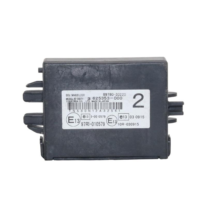 Genuine OEM 89780 33220 625353 000 Transponder Key Computer Assembly for 2011 TOYOTA Camry