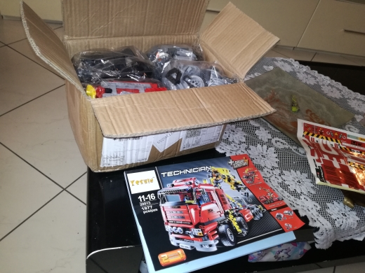 LEPIN 20013 The Electric Crane Truck Block Set (1877pcs) photo review