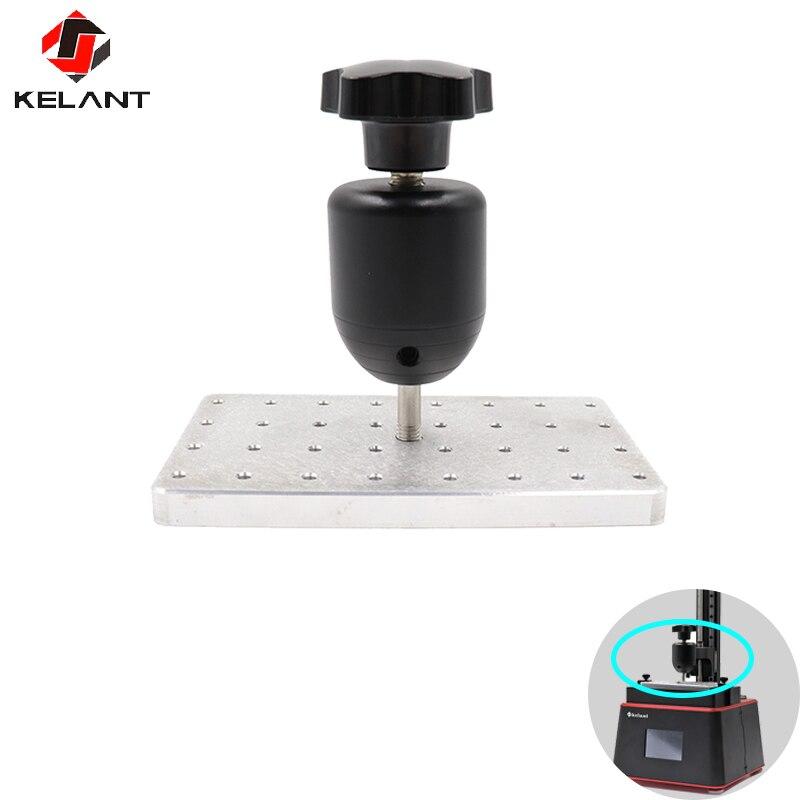 Kelant 3D imprimantes construire surface plaquée 3d imprimante Plate-forme plaque métallique 138x80x110mm pour Orbeat UV 3D imprimante pièces accessoires