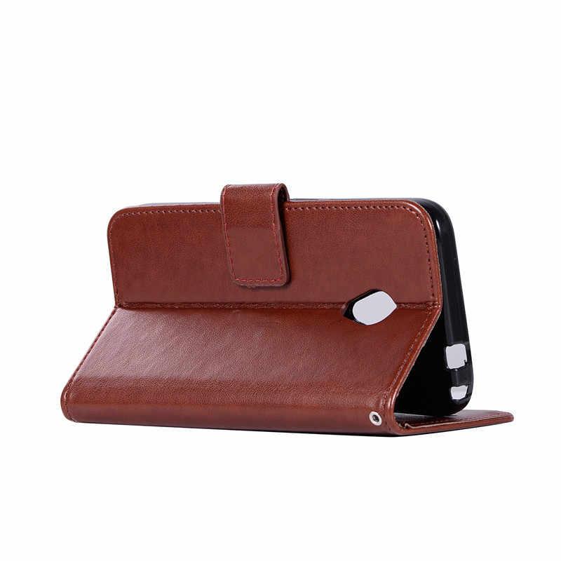 Pour Alcatel U5 4G étui 5.0 portefeuille etui de téléphone en cuir synthétique polyuréthane pour Alcatel U5 U 5 4G 5044 5044D 5044Y étui Flip Silicone sac de couverture arrière