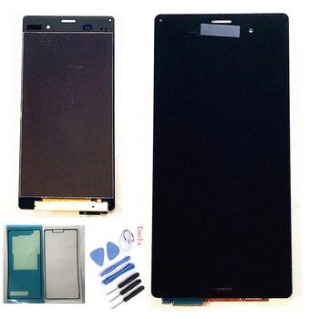5.2 ''ORIGINAL สำหรับ SONY Xperia Z3 จอแสดงผล LCD หน้าจอสัมผัส D6603 D6616 D6653 เปลี่ยน LCD สำหรับ SONY Xperia Z3 dual D6633 D6683