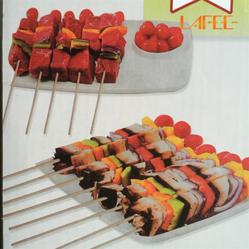 BBQ Kebab Maker Cut Meat Tools skewered machine 1