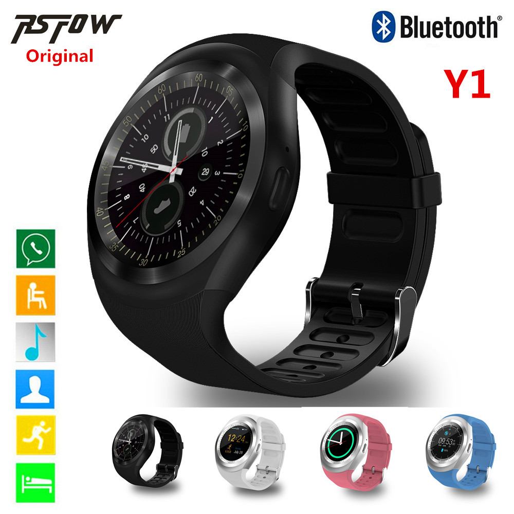 RsFow Y1 Smart Watch Sport Full Screen Fitness Activity Tracker Sleep Monitor Pedometer Calories Track support
