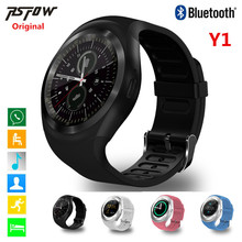 Rsfow Y1 Smart Watch Sport полный Экран фитнес-трекер активности Sleep Monitor шагомер калорий дорожки поддержка SIM и карты памяти Солт