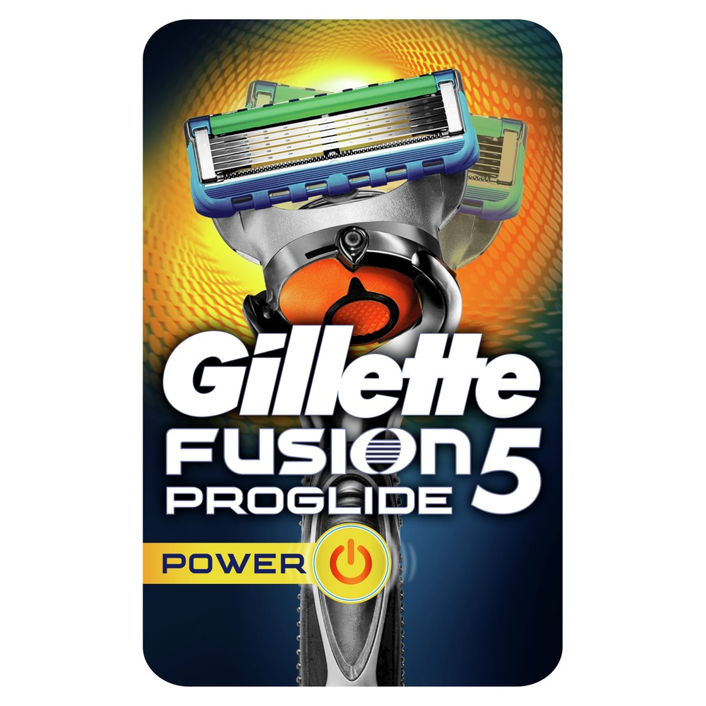 Razor Gillette Fusion ProGlide Flexball Power 5 Shaver Razors Machine for shaving + 1 Razor Blade