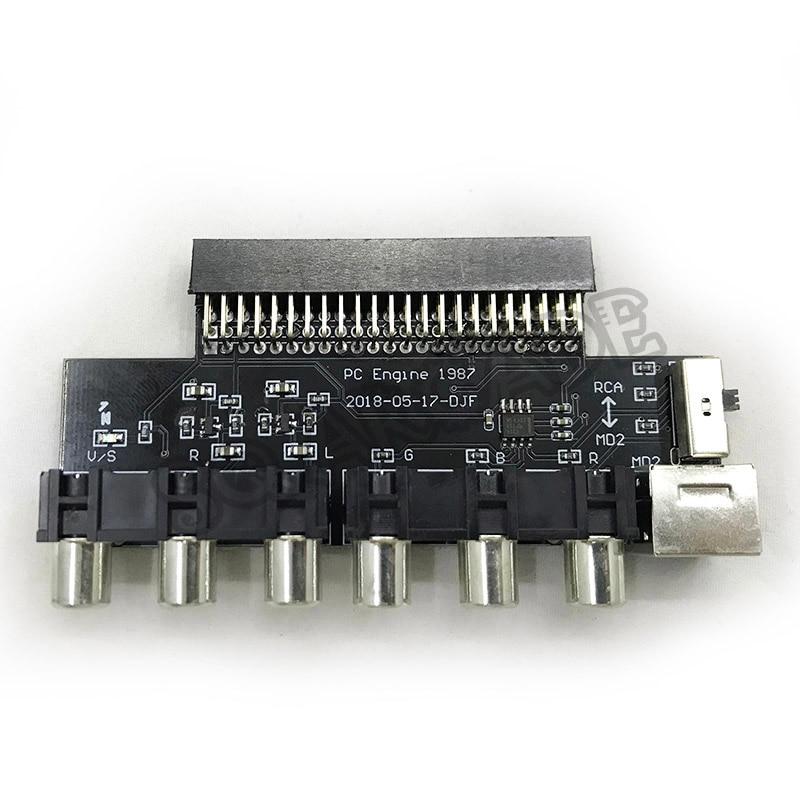NEC PCE PC engine TV AC RGBS conveterNEC PCE PC engine TV AC RGBS conveter