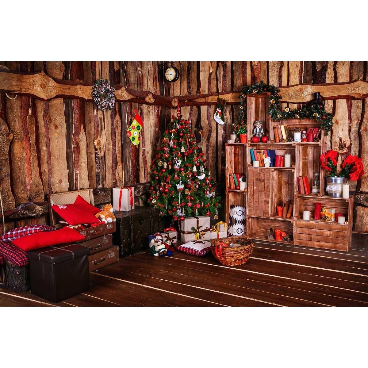 7x5FT Retro Christmas Tree Vinyl Photography Background Props Studio Photo Studio 2017 New Arrival new arrival 3x5ft vinyl background studio photography photo props christmas tree backdrop