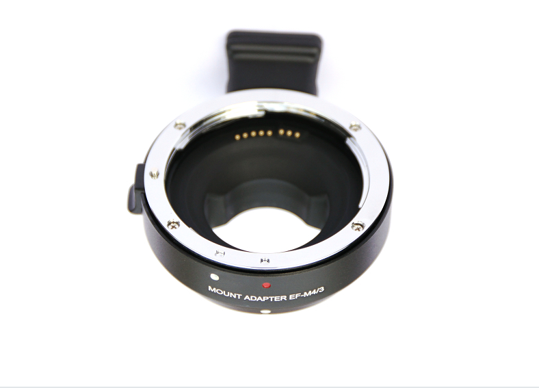 EF-MFT Electronic Aperture Control Lens Mount Adapter for Canon EF&EF-S to for Panasonic LUMIX GH2/3/4 M4/3 Camera недорго, оригинальная цена