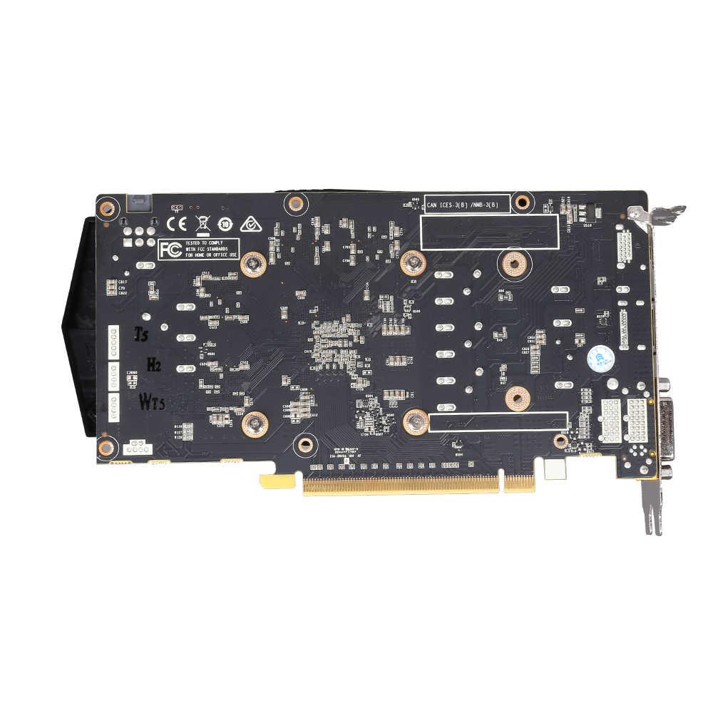 فيديو بطاقة GTX1050Ti للكمبيوتر بطاقة الرسومات PCI-E GTX1050Ti GPU 4GB 128Bit 1291/7000MHZ DDR5 ل نفيديا غيفورسي لعبة