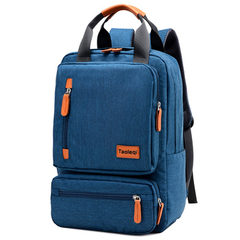 Anti-theft Men's Nylon Backpack Laptop Backpack Male Leisure Travel 1