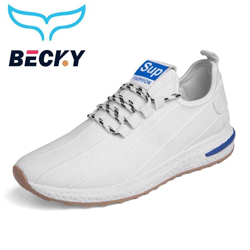 Ligero zapatillas transpirable hombres zapatos de moda de diseñador de la marca de estilo de vida correr gimnasio deporte calzado
