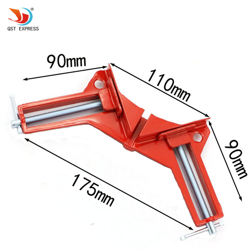 90 degree right angle clamp 100mm mitre clamps corner for Right angle house