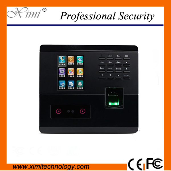 цена на ZK Good quality linux system 200 users face time clock color screen with infrared camera TCP/IP fingerprint time attendance