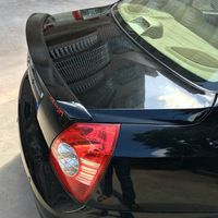 Für hyundai elantra spoiler Hohe Qualität ABS Material Auto Hinten Flügel Primer spoiler für hyundai elantra 2005 2006 2007