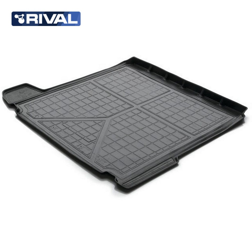 For Opel Astra J SEDAN 2012-2015 trunk mat Rival 14202009 коврик багажника rival для opel astra j седан c полноразмерной запаской 2012 н в полиуретан 14202009