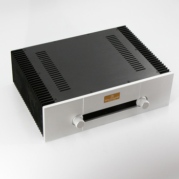 GAOWEN-A All Aluminum Amplifier Chassis Class A Power Amp Case DIY Audio Enclosure 430MM*120MM*313MM 1