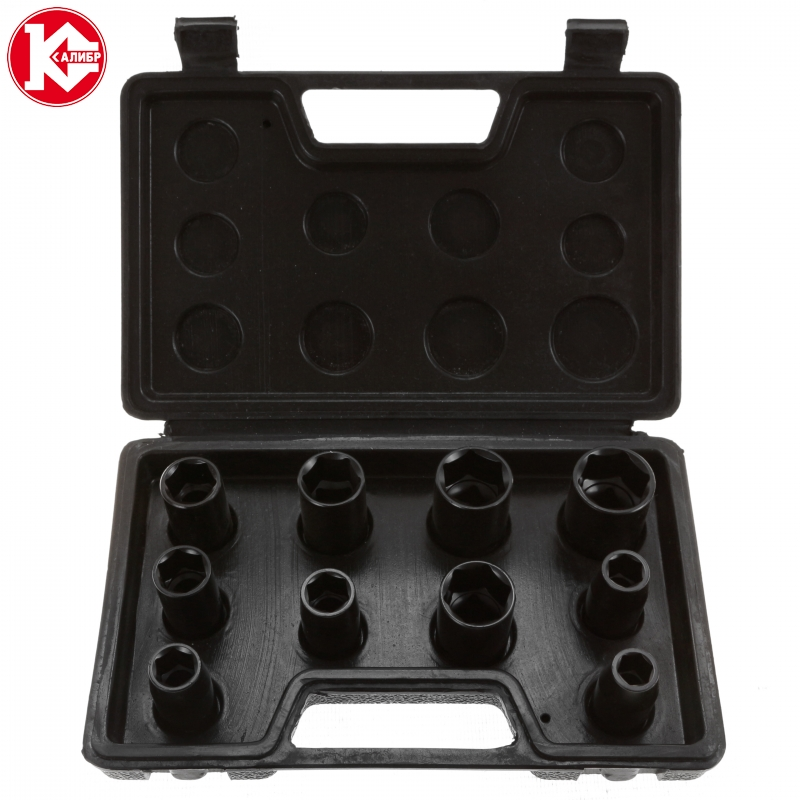 Socket Wrench set  for impact wrencher Kalibr GTU-10 wrench set for impact wrencher kalibr gtu 10