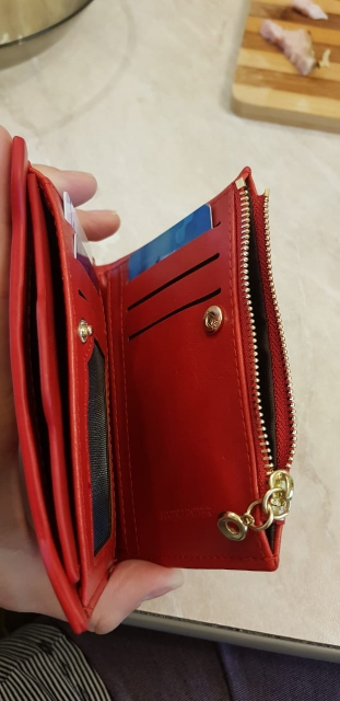 with Coin Bag zipper new 2019 women wallets brand purses female  thin wallet passport holder ID Card Case
