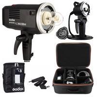 Godox ad600bm 2.4 г HSS Портативный Студия флэш Strobe Bowens ad h600 Наборы, для Canon Nikon Камера + сумка + чемодан + аккумулятор