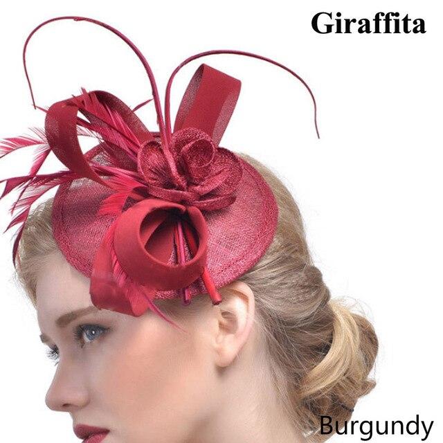 Topi bulu aksesoris rambut jepit rambut hiasan kepala kecil pengantin  perjamuan Eropa tunggal tahap jala topi 4f0d4ae743